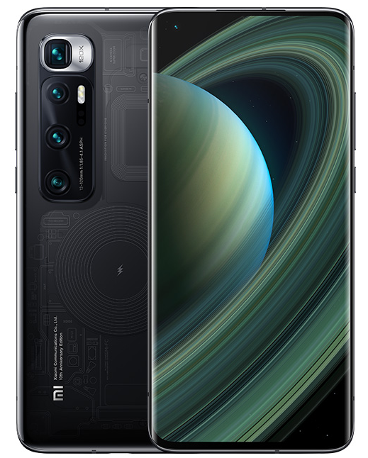 Mi 10 Ultra also supports an insanely fast 50W wireless charging and can capture 8K videos, while 1080p slo-mo videos can be recorded at 960fps frame rate.